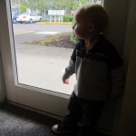 Owen has a strong interest in &quot;trucks&quot; and runs to the windows as soon as we hear any big sounds outside.
